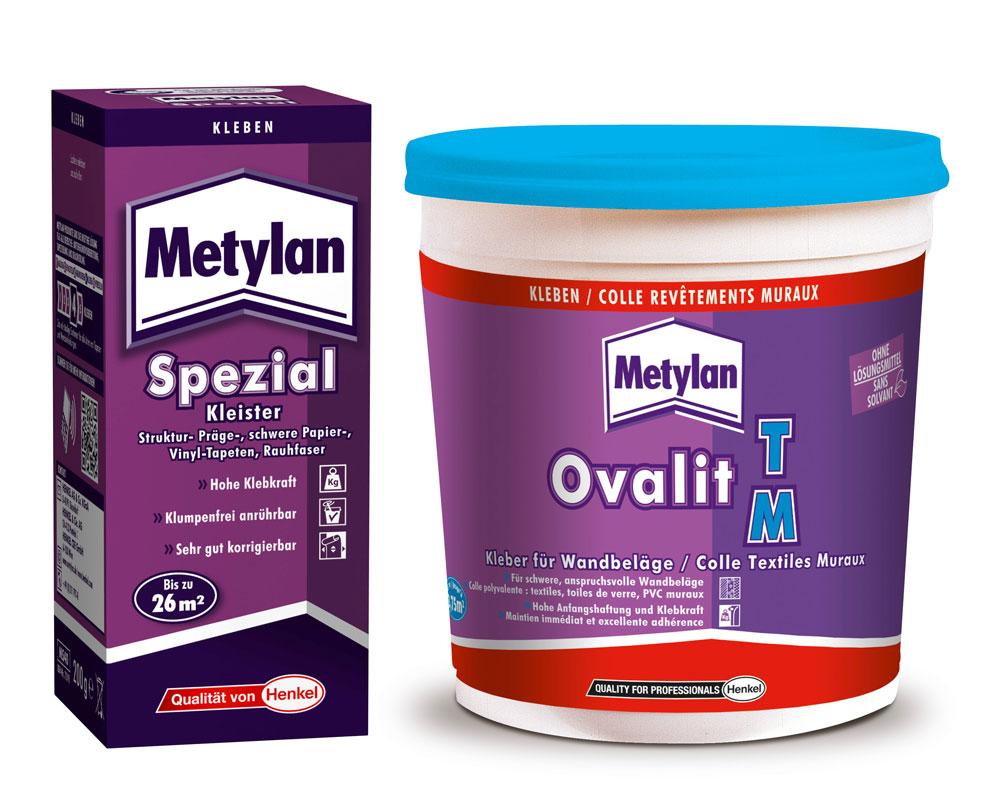 jetzt bestellen » metylan spezialkleister und ovalit tm