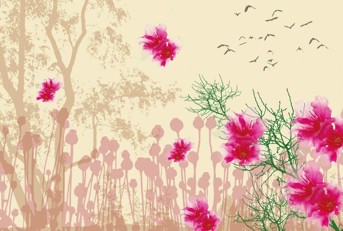 Jetzt Bestellen » Fototapete Natur Inspiration, Artwork |  Livingwalls Cologne.de