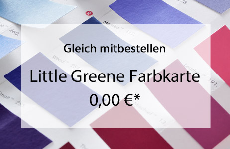 Aktuelle Little Greene Farbkarte in den Warenkorb legen (kostenfrei)