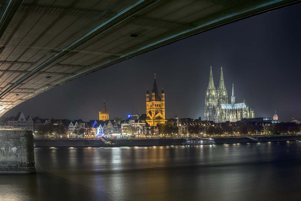 Jetzt Bestellen Fototapete Koln Deutzer Brucke Livingwalls Cologne De